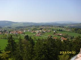 BayerischerWald-Baumwipfelpfad-Aussicht