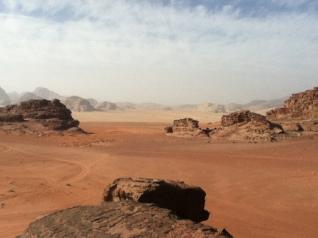Blick Richtung Saudi-Arabien