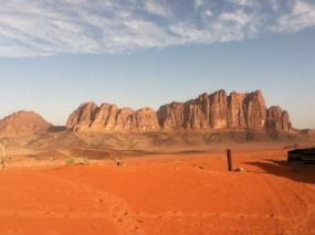 Berge in Wadi Rum