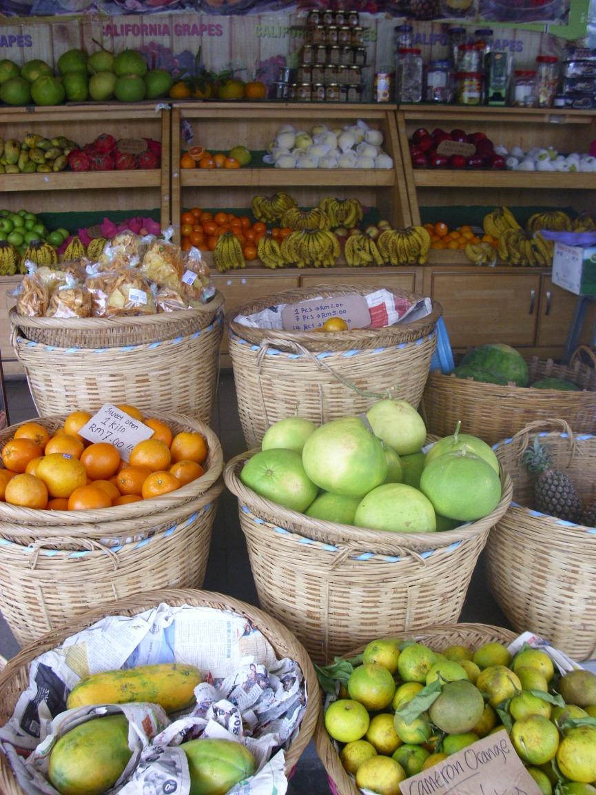 Früchte am Markt