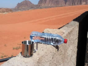 Wasser-SODIS in der Wüste