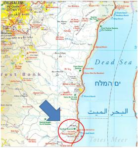 Israel-EnGedi-Map