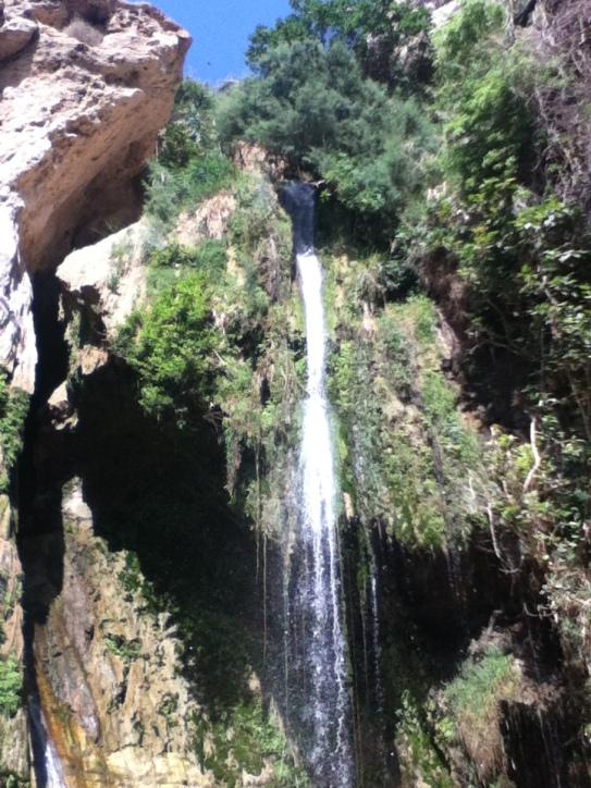 Wadi David Wasserfall