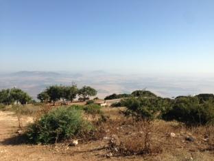Blick zu Mount Tabor