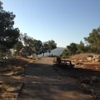 Mount Shaul Blick nach Süden