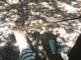 Bambus vorbereiten